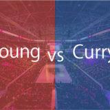 トレイ・ヤングとステフィン・カリーの初対戦が実現!両者のスタッツは?