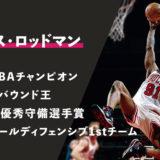 【デニス・ロッドマン】プロフィール / スタッツ〜NBA屈指のリバウンド王