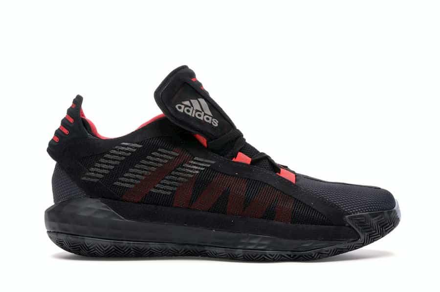 adidas Dame 6 Black Red