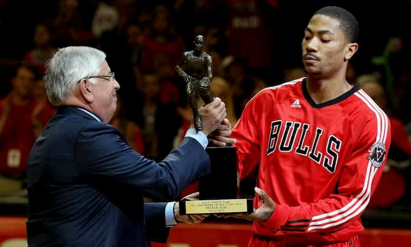 2011年 NBA MVP デリック・ローズ