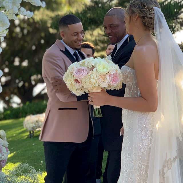 セス・カリー 結婚式