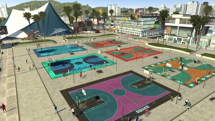 NBA 2K21 2K Beach