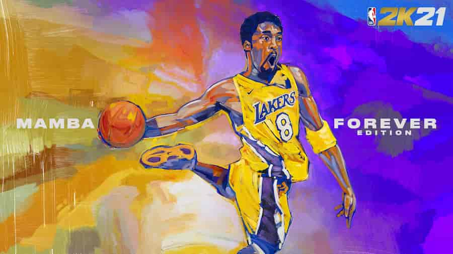 NBA 2k21 Kobe Bryant Current Gen