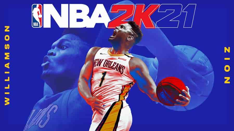 NBA 2k21 Zion Williams