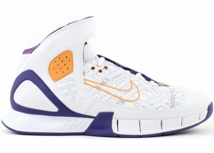 Nike Air Zoom Huarache 2K5 Kobe Laser LA Map