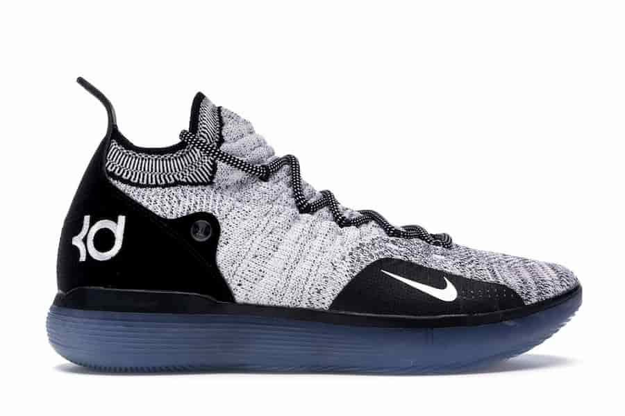 Nike KD 11 Black White Racer Blue