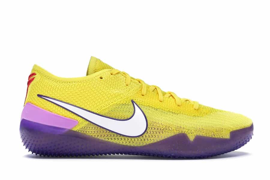 Nike Kobe NXT 360 Yellow Strike