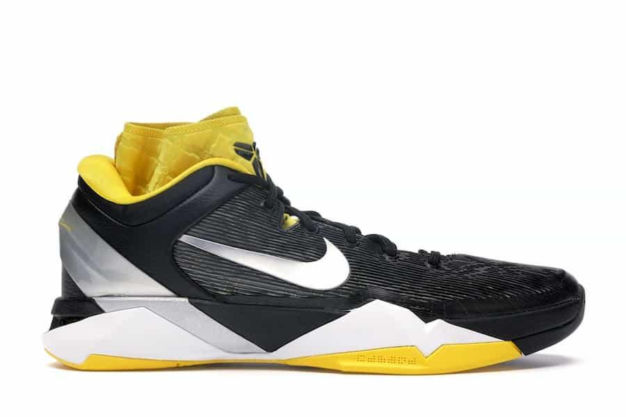 Nike Kobe 7 Black White Del Sol