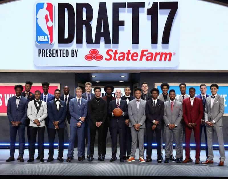 NBAドラフト2017 集合写真